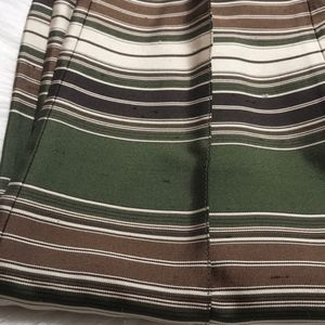 Michael Kors Collection Pants - Michael Kors Collection Striped Silk Pants